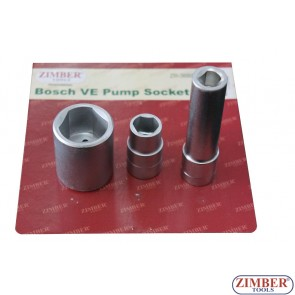 Trusa tubulare pentru pompe de injectie diesel Bosch VE. ZR-36BPSS - ZIMBER TOOLS