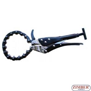 Dispozitiv pentru taiat tevi esapament 250mm - ZR-22HDLCP - ZIMBER - TOOLS