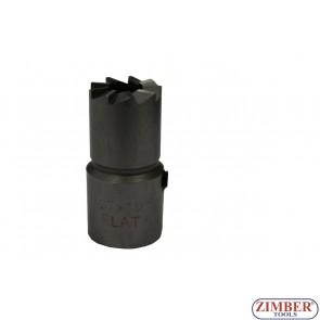 FREZE PENTRU CURATAT ORIFICIU INJECTOR DIESEL 17x19mm 1buc -  BOSCH injector (MERCEDES CDI) -ZIMBER-TOOLS. ZR-36RS05-3