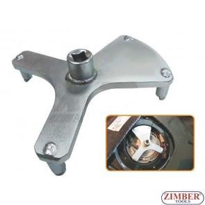 Cheie universala pentru demontat capacul superior de la rezervoare BMW, VOLVO -  ZR-36FTLRI03 - ZIMBER TOOLS