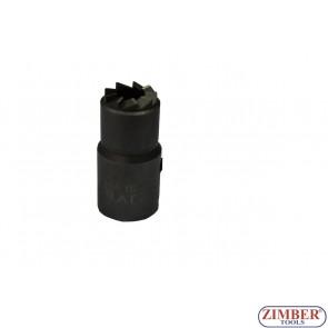 FREZE PENTRU CURATAT ORIFICIU INJECTOR DIESEL 15x19mm 1-buc - ZIMBER-ZR-36RS05-2