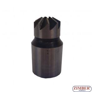 FREZE PENTRU CURATAT ORIFICIU INJECTOR DIESEL 17x21mm 1- buc ,ZR-36RS05-4 - ZIMBER-TOOLS