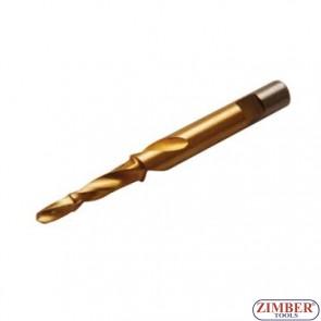 Burghiu autocentrant pentru bujii 7*5.5mm, ZR-36ST755 - Zimber-Tools.