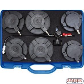 Set capace pentru testarea sistemului turbo la camioane - ZR-36TSST - ZIMBER TOOLS