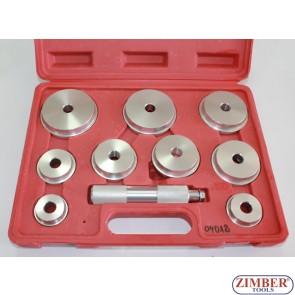 Trusă pentru schimbat rulment simering, și bucşe -10 Buc, ZT-04012 - SMANN TOOLS
