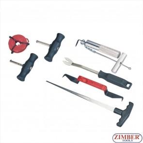 Set de scule pentru demontat parbrize, ZT-04045 - SMANN TOOLS