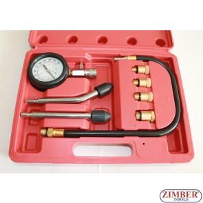 Compresmetru pentru motoare benzina, ZT-04106 - SMANN TOOLS