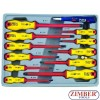 Set  surubelnite izolate electric  1000 V 12 Buc. - FORCE
