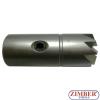 FREZE PENTRU CURATAT ORIFICIU INJECTOR DIESEL, Freze plate 14x14mm 1 -buc -ZR-41FR08 - ZIMBER TOOLS