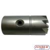 FREZE PENTRU CURATAT ORIFICIU INJECTOR DIESEL 17x17mm 1 -buc -ZR-41FR04 - ZIMBER TOOLS.
