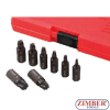 Set extractor suruburi Torx-Plus 8 buc - ZR-36TPES8 - ZIMBER TOOLS