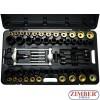 Kit hidraulic pentru montare și demontare a articulațiilor, bucșe, rulmenti, garnituri - ZR-36SSRS - ZIMBER SCULE