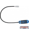Recuperator magnetic flexibil cu LED, forta de prindere pana la 1.5Kg, lungime 600mm (3187) - BGS technic