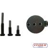 Set universal cu dispozitive speciale pentru montat curele elastice de accesorii Audi / Seat / Skoda / Volkswagen, 4pcs- ZR-36MTSFMRB02 - ZIMBER TOOLS