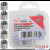 Insertii Helicoil pentru reparatii filete M20 x 1.5 mm 5 pcs. (9434-1) - BGS technic