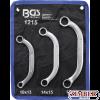 Set chei inelare Semiluna 10x13 - 14x15 - 17x19, 3 piese - 1215 - BGS technic.