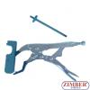 Dispozitiv special pentru montat-demontat arcuri de supape pentru motoare BMW  N42,N46 - ZR- 36BVPSIRT - ZIMBER TOOLS